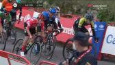 Peleton na mecie 14. etapu Vuelta a Espana