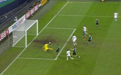 Puchar Niemiec. Schweinfurt - Schalke 1:4. Gol Benito Raman