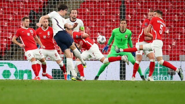 Polacy blisko historycznego wyniku na Wembley. Zabrakło paru minut