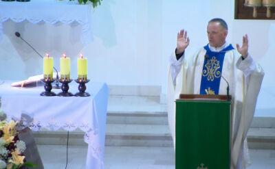 Ksiądz Lemański zwrócił się do wiernych w trakcie mszy