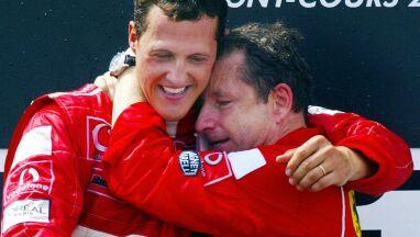 Przyjaciel nie zapomina o Schumacherze.