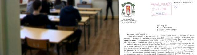 Kuria nie zgadza się na zmniejszenie liczby lekcji religii
