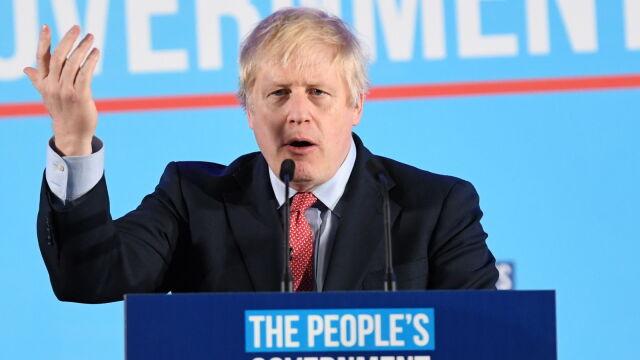 Wielki triumf Borisa Johnsona. Najlepszy wynik konserwatystów od czasów Margaret Thatcher