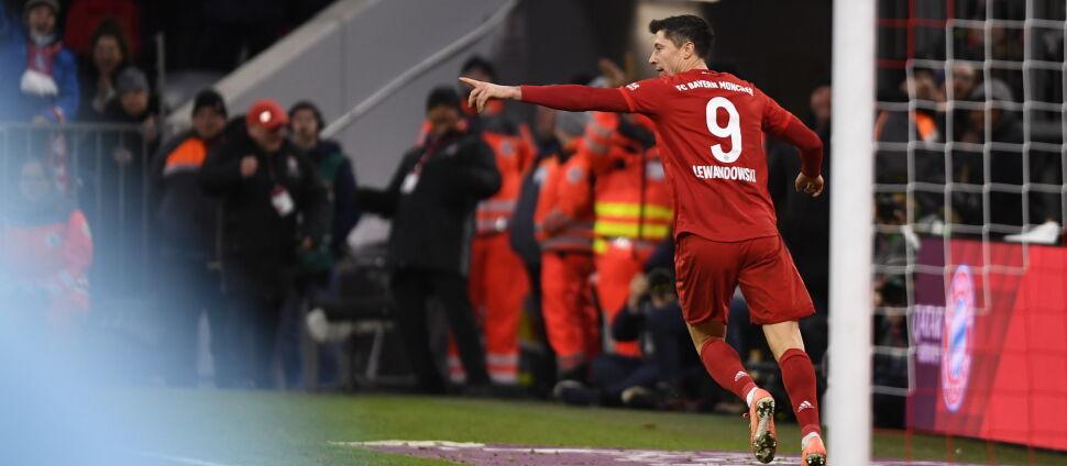 Szalony mecz w Monachium. Lewandowski awansował w klasyfikacji wszech czasów