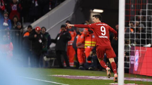 Popis Bayernu. Lewandowski awansował w klasyfikacji wszech czasów
