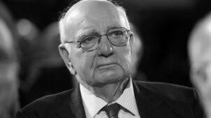 Zmarł Paul Volcker, wieloletni szef Fed i