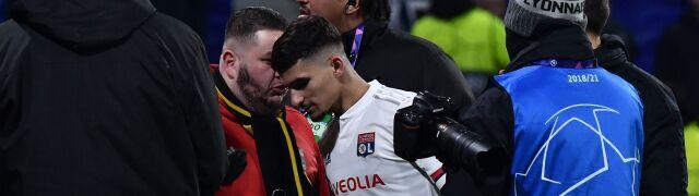 Awantura piłkarzy i kibiców  po awansie w Lidze Mistrzów