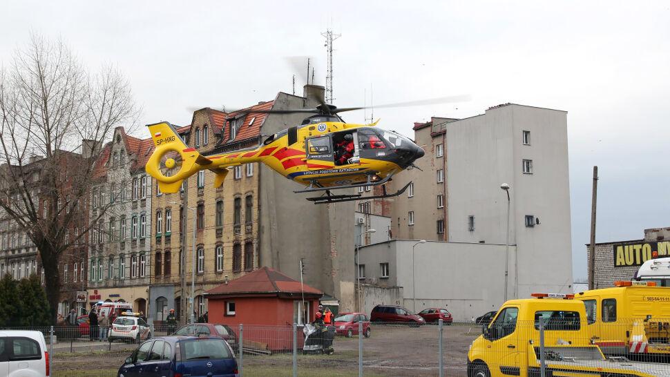"""Wypadek podczas ćwiczeń policjantów. """"Jeden z kolegów spadł z wysokości trzeciego piętra"""""""