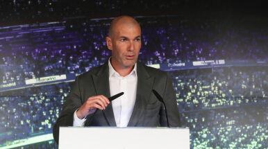 Zidane powitany w Realu.