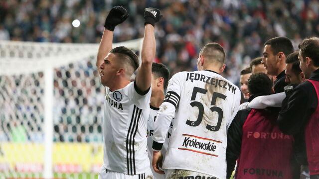 Karny z przypadku i minimalne zwycięstwo. Legia najadła się strachu