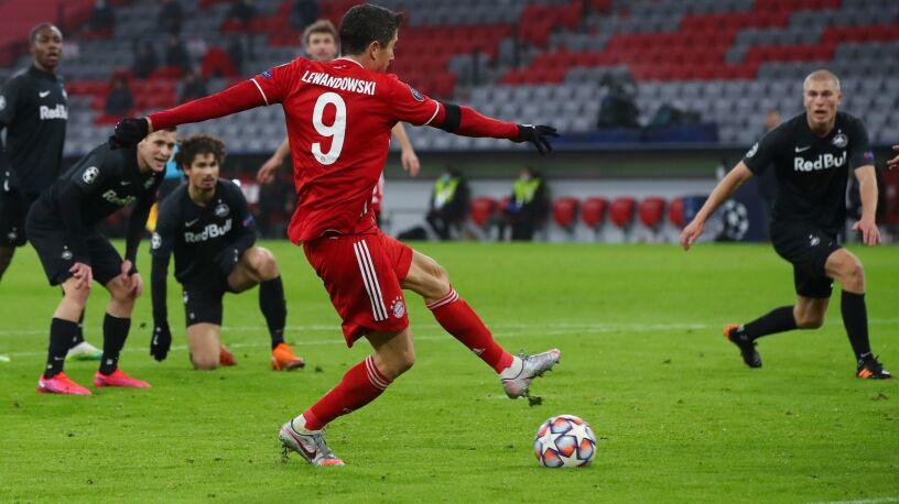 Lewandowski wskoczył na podium najskuteczniejszych w Lidze Mistrzów