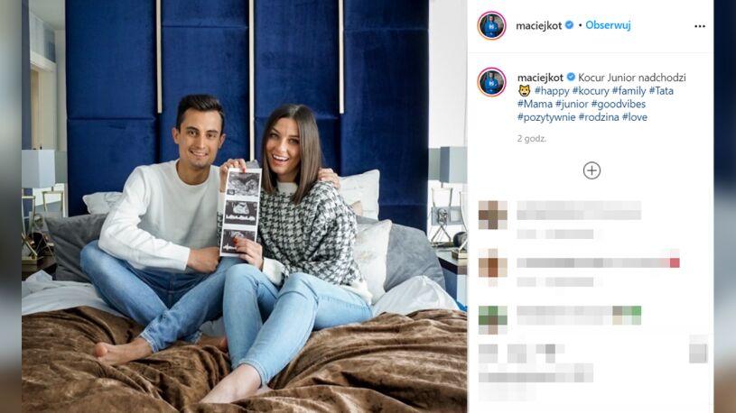 Maciej Kot zostanie ojcem