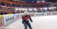 Skok Żyły z 2. serii konkursu drużynowego w MŚ