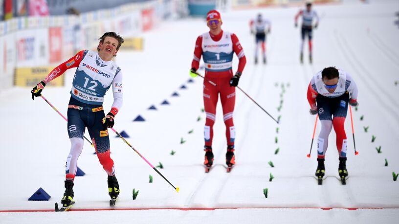 Klaebo zdyskwalifikowany po biegu. Złoto dla innego Norwega