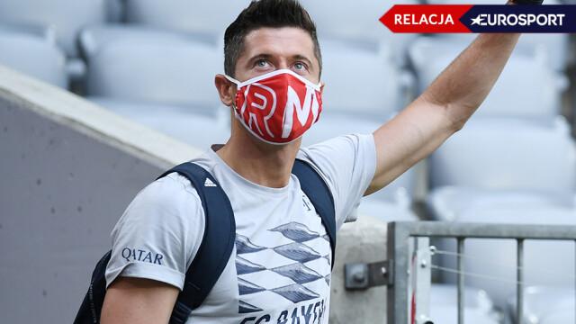 Bayern już prowadzi. Lewandowski czeka na gola