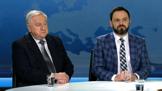 """Gośćmi """"Horyzontu"""" byli profesor Bogdan Góralczyk oraz Kamil Wyszkowski"""