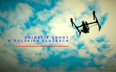 Chińskie drony w polskich służbach. Niebezpieczna obserwacja