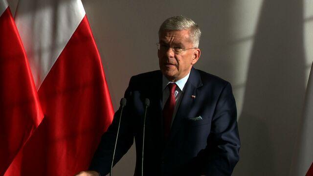 Karczewski o wyniku głosowania w Senacie: to nie jest porażka prezydenta