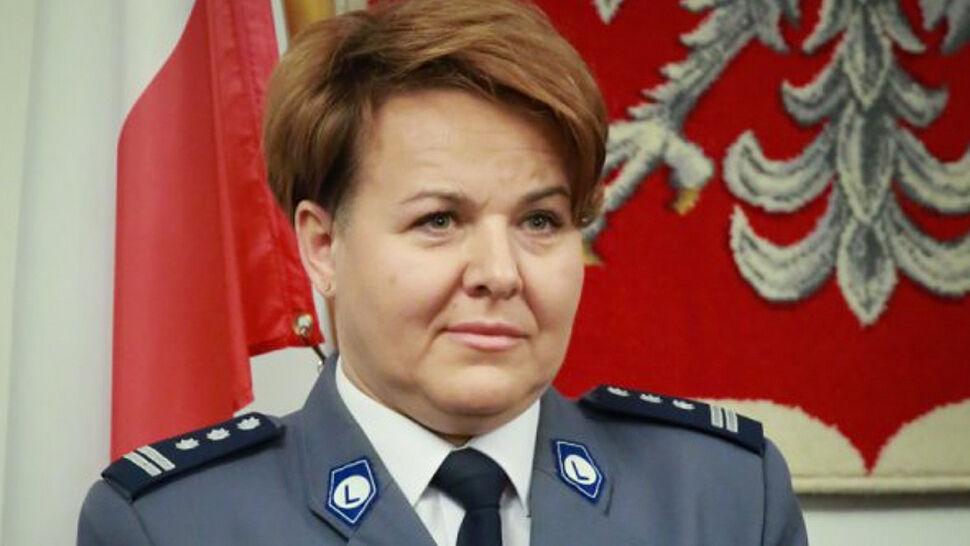 Awans w dół jedynej kobiety generał w polskiej policji