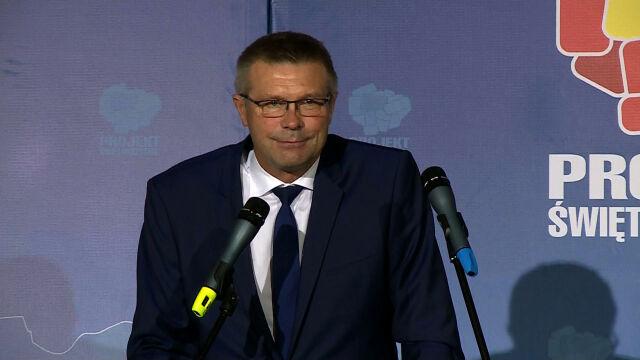 Bogdan Wenta zwyciężył w Kielcach