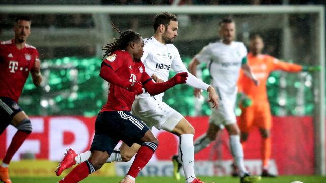 Szybkie dwa gole, później nerwy. Czwartoligowiec postraszył Bayern