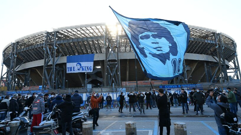 Hołd dla Maradony. Stadion Napoli zmienił nazwę