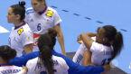 Skrót meczu Francja - Czarnogóra w pierwszej fazie grupowej ME w piłce ręcznej kobiet