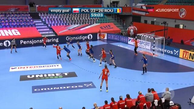Rumunia pokonała Polskę w 2. kolejce pierwszej fazy grupowej ME w piłce ręcznej kobiet