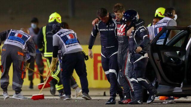 Pomogli uratować Grosjeana. Zostali nagrodzeni przez księcia Bahrajnu
