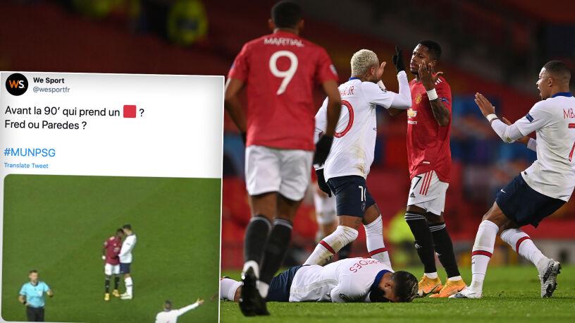 """Piłkarz United """"pracował"""" na czerwoną kartkę. """"Miał szczęście"""""""