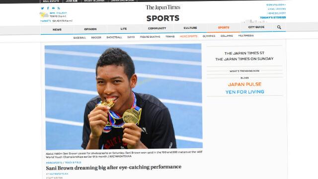 16-latek biega szybciej niż Bolt. W Japonii rośnie fenomen