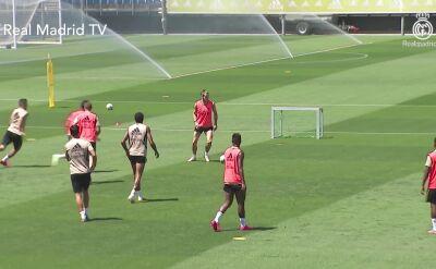 Trening Realu Madryt przed starciem z Villarreal