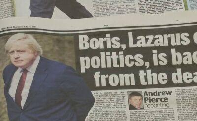 Boris Johnson coraz bliżej zwycięstwa w wyścigu o przywództwo w partii konserwatywnej