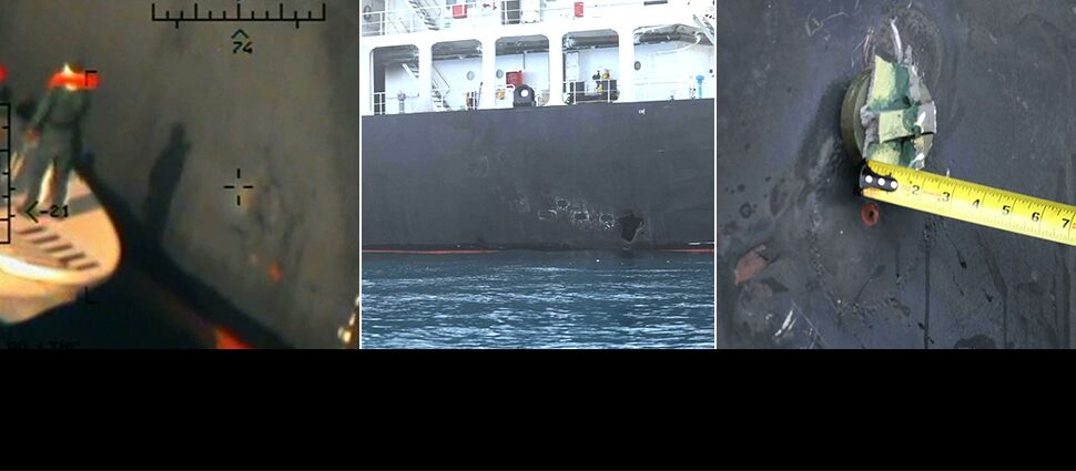 Amerykanie pokazują nowe zdjęcia  po ataku na tankowiec