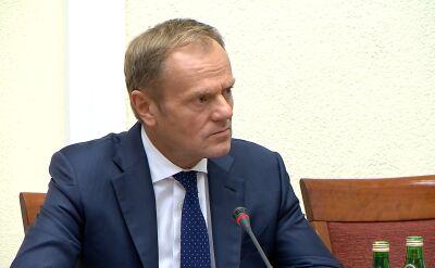 Tusk: kwestia paliw była kwestią palącą