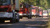40 zastępów strażaków w akcji. Pożar składowiska chemikaliów