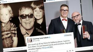 Wojna na hashtagi. Bojkotujesz Dolce & Gabbana czy Eltona Johna?