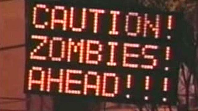 Hakerzy włamali się do tablic drogowych