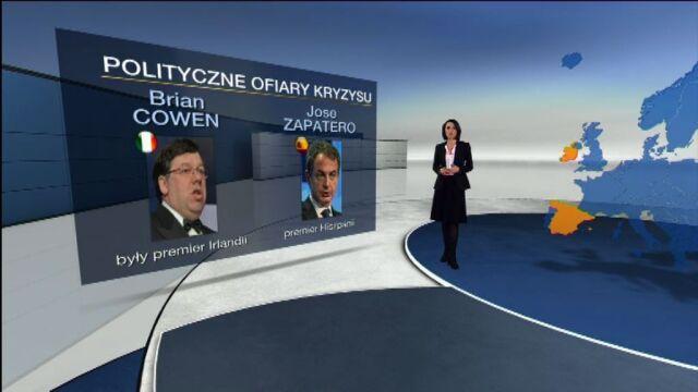 Rynki w kryzysie zmiatają rządy/TVN24