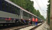 Od kilku godzin stoi w polu. Pasażerowie utknęli w pociągu IC