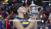 Skrót meczu Andreescu - Williams w finale US Open