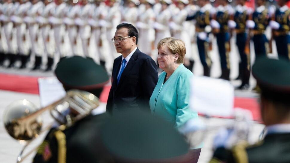Merkel w Pekinie: poruszyłam kwestię praw i wolności w Hongkongu