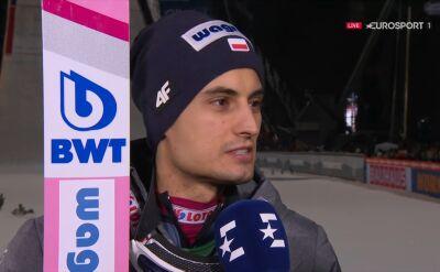 Maciej Kot po kwalifikacjach w Oberstdorfie