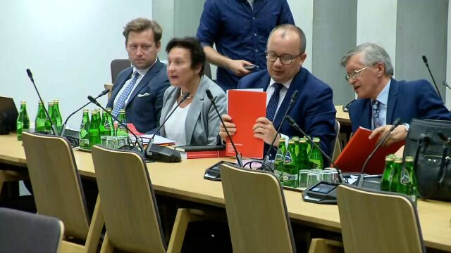 Burzliwe posiedzenie komisji. Adam Bodnar nie dopuszczony do głosu
