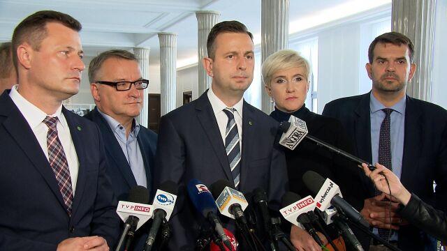 Kosiniak-Kamysz: coś władza chce ukryć po to, żeby wygrać wybory