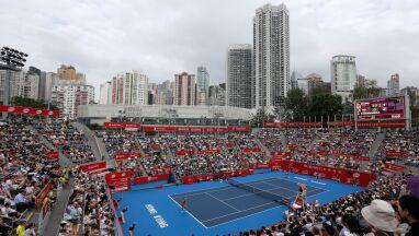 Napięta sytuacja w Hongkongu. Przełożono tenisowy turniej kobiet