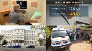 Prawie co trzeci lekarz w Polsce ma ponad 60 lat