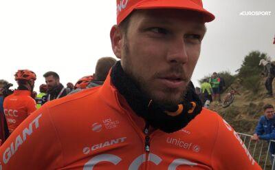 Bernas po 16. etapie Vuelta a Espana