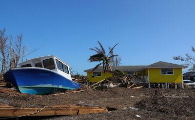 Huragan Dorian spowodował olbrzymie zniszczenia na Bahamach