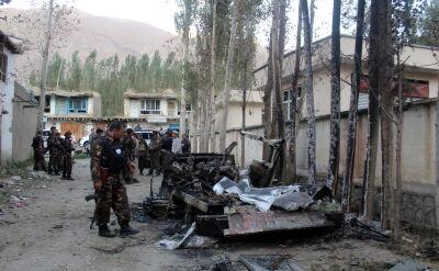 W wyniku ataku bombowego w Kabulu zginęło 13 osób, w tym amerykański żołnierz